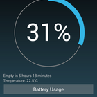 APP OF THE DAY: Battery Widget Reborn review (Android) - photo 2