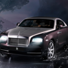 Rolls-Royce announces the Wraith with Satellite Aided Transmission - photo 1