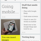 Google Keep notetaking service officially announced for web and Android - photo 3