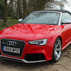 Audi RS5 Cabriolet pictures and hands-on - photo 25