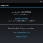 App of the day: Google Keyboard review (Android) - photo 11