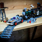 Lego Back To The Future + Lone Ranger Constitution Train Chase = BTTF III gold - photo 1
