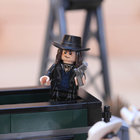 Lego Back To The Future + Lone Ranger Constitution Train Chase = BTTF III gold - photo 33
