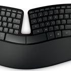 Microsoft Sculpt Ergonomic Desktop prevents carpal tunnel, shoulder rotation with Manta ray design - photo 1