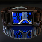 TokyoFlash Kisai Console Wood watch is one futuristic version of nature - photo 4