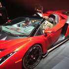 Hands-on: Lamborghini Veneno Roadster turns up at CES with $50k Monster speaker makeover - photo 5