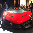 Hands-on: Lamborghini Veneno Roadster turns up at CES with $50k Monster speaker makeover - photo 8