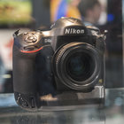 Nikon D4S in pictures: Top-spec camera eyed behind glass at CES trade show - photo 2