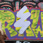 Street art project wipes out London's ugly spots with Photoshop eraser graffiti - photo 5