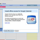 Googles Calendar goes offline - photo 1