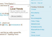 Twitter Trends going local - photo 1
