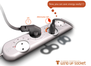 Wind-up powerstrip concept suggested - photo 1