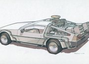 Back To The Future II concept drawings - photo 2