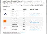 O2 and Vodafone's iPad data plans leaked - photo 2