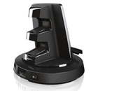 TwistDock for PS3 rotates and charges your console  - photo 3