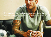 David Beckham signs for Yahoo! - photo 3