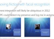 Face recognition login planned for Windows 8 - photo 1