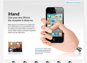 iHand - the perfect way to hold your iPhone 4 - photo 1