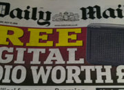 Daily Mail free DAB radio, that's not so free - photo 1