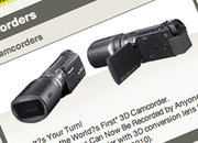 Panasonic preps consumer 3D camcorder? - photo 1