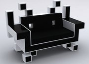 Nothing says uber-geek quite like a Space Invaders sofa - photo 2