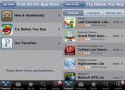 """Apple urges app fans to """"Try Before You Buy""""  - photo 2"""