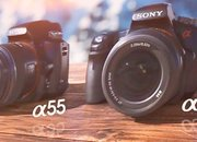 Sony A33 and A55: The see-through cameras - photo 2
