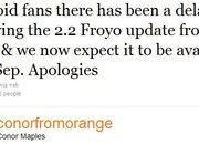 Orange HTC Desire: Froyo not coming until mid-September - photo 2