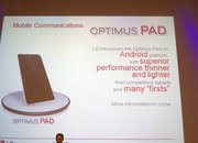 LG Optimus Pad to take on Samsung and Apple - photo 2