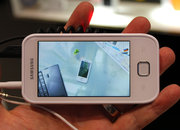 Samsung Galaxy Player 50 hands-on - photo 4