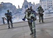 Spartan takes to the skies to celebrate launch of Halo: Reach - photo 1
