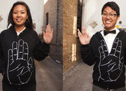 Hand hoody turns into Star Trek greeting - photo 2