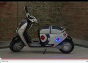 Mini Scooter E concept that needs an iPhone to start it - photo 4