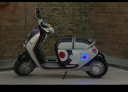 Mini Scooter E concept that needs an iPhone to start it - photo 5
