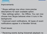 "Skype for iPhone goes ""Offline"" - photo 2"