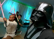 Darth Vadar gets new job as a gym instructor - photo 2