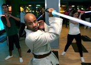 Darth Vadar gets new job as a gym instructor - photo 4