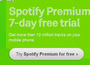 Spotify Premium offers 7-day free trials - photo 1