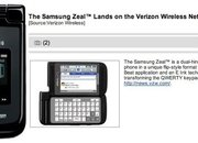 Samsung Zeal: E Ink keyboard phone leaked - photo 2