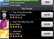 Get some Bieber on your BlackBerry with the Amazon MP3 app  - photo 1