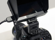 Sony Alpha CLM-V55 movie monitor hands on   - photo 2