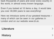 APP OF THE DAY - British Library: Treasures (iOS and Android) - photo 3