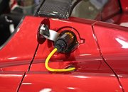Fulton Innovations demo wireless car charging - photo 4