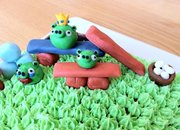 New Angry Birds birthday cake baked - photo 4