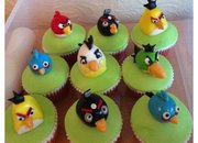 Now... Angry Birds cupcakes - photo 3