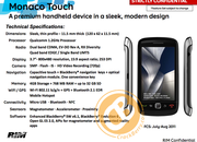 BlackBerry Curve Touch revealed by leaked roadmap  - photo 4