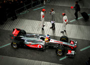 Vodafone McLaren Mercedes MP4-26 2011 F1 car eyes-on - photo 2