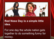 APP OF THE DAY - Red Nose Day In Your Pocket review (iPhone / iPod touch) - photo 5