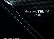 Samsung Galaxy Tab 8.9 teased - photo 2