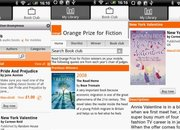 Orange eBook app opens pages in the Android Market - photo 2